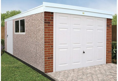 concrete garages low maintenance.